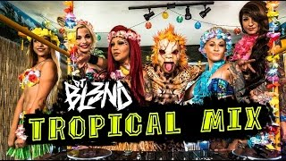 (TROPICAL MIX) - Dj BL3ND (Dj Karlithoz Remake)