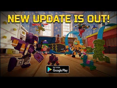 Pixel Gun 3d UPDATE 16.4 TOY STORY