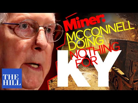 Protesting Coal Miners: Mitch McConnell Has Done Nothing For Kentucky