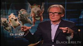 G-Force - Interview w/ Bill Nighy