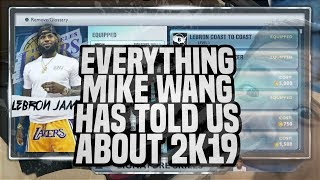 EVERYTHING 2K DEVELOPERS HAVE SAID ABOUT NBA 2K19