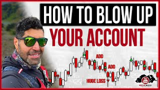 How To Blow Uṗ Your Account | Day Trading Recap