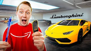 EXCHANGED PEN for LAMBORGHINI for 100 exchanges!  *** IT WORKED ***