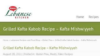 How-to Prepare Grilled Kafta Kabob