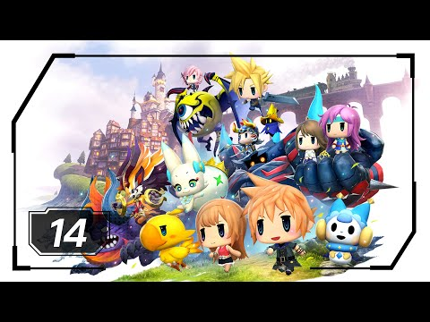 World of Final Fantasy - Part 14 - Icicle Ridge (No Commentary - 1080p)