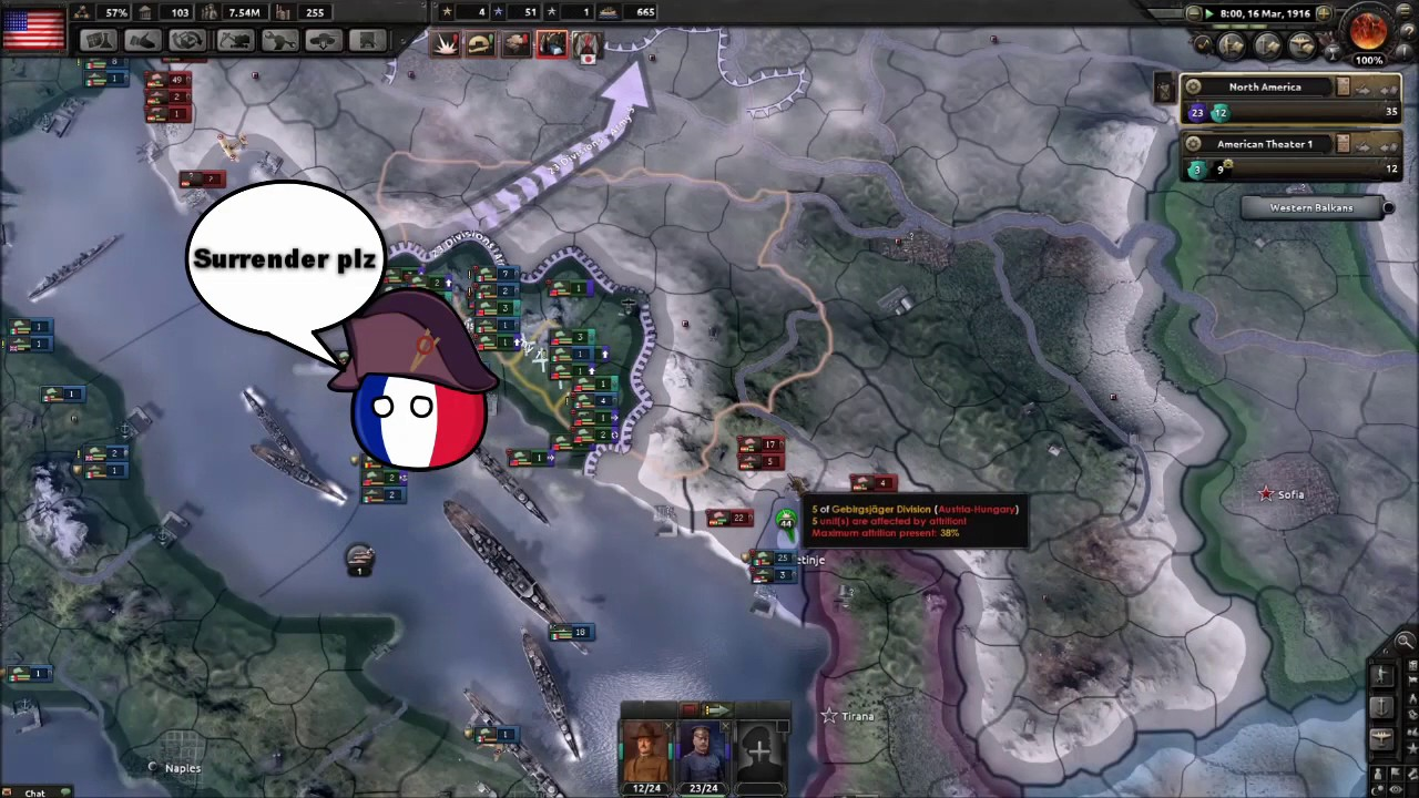 Hoi4 MP in a nutshell episode 8 (Germany's soft belly)