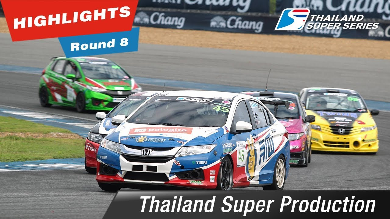 Highlights Thailand Super Production Round 8 @Chang International Circuit Buriram