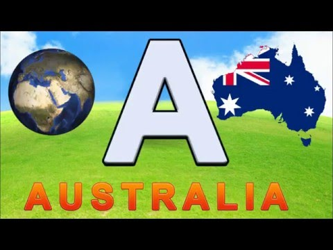 Alphabet Phonics Countries ABCs Learn the Alphabet and Coutries ABC Song