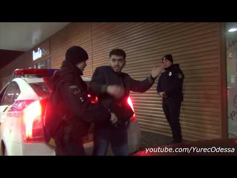 Мразь полицейская ворует водительское