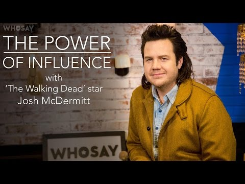 Josh McDermitt Explains Why His 'TWD' Character 'Turned Over to the Dark Side'  WHOSAY