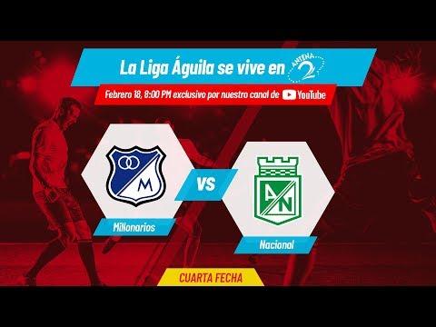 EN VIVO: Millonarios vs Atlético Nacional | Liga Águila
