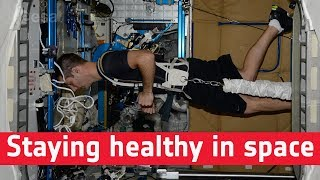 Space medicine: staying healthy in space