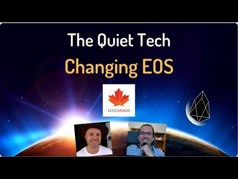"""EOS Canada / EOS Canada - New tech at the base layer (Alex Bourget) Listen On """"The EOS Podcast"""" - Happy Money Man"""