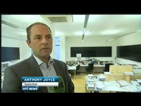 Dublin solicitor Anthony Joyce on the RTE Six One News