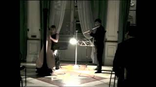 Bellini - Parish Alvars - Fahrbach: Fantasia for Flute and Harp PART 1