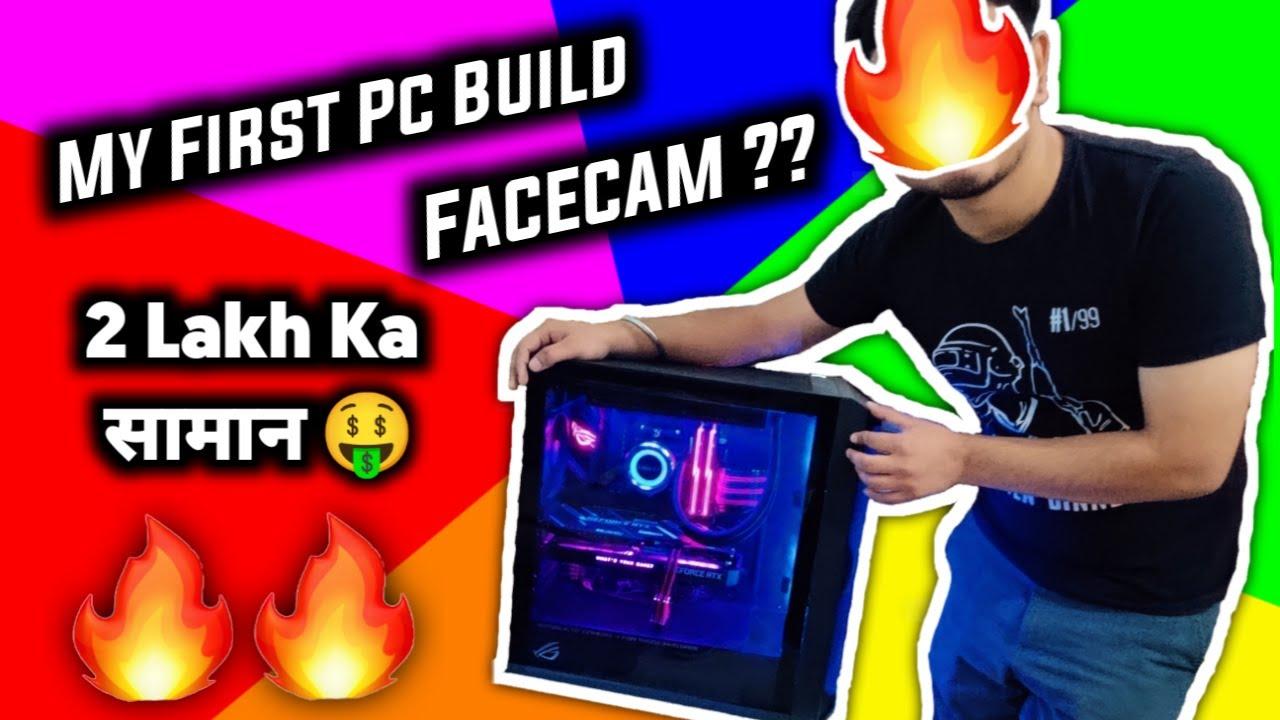 2 Lakh ka सामान 🤑 | My First Pc Build 😎 | Facecam ??