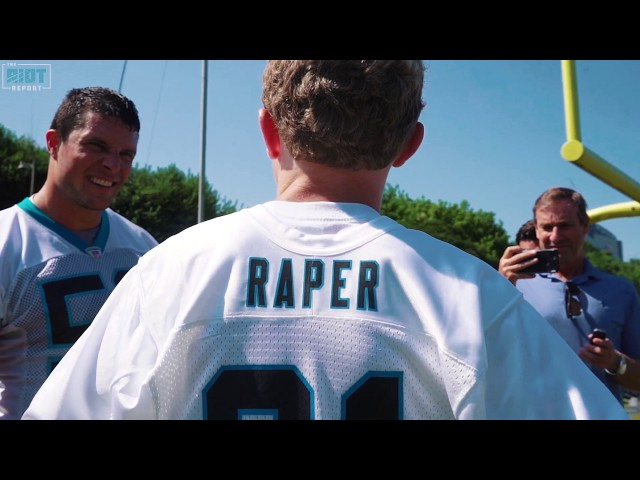 Make-A-Wish Kid Peyton Raper Signs A One-Day Contract With The Carolina Panthers