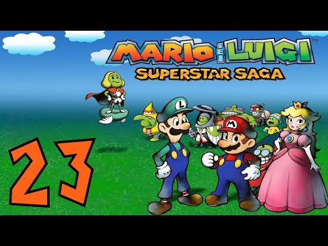 Let's Play Mario & Luigi Superstar Saga [German][#23] Das Yoshi-Theater!