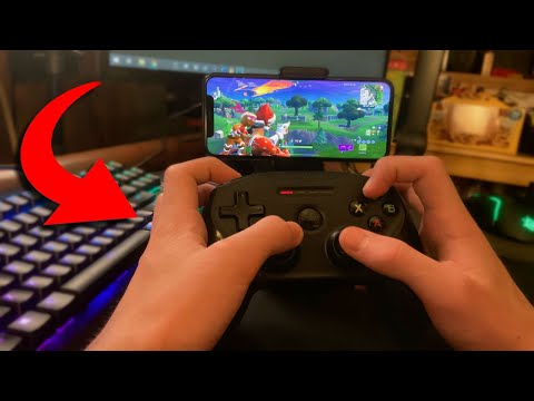 100 HOURS Of Using A Controller On Fortnite Mobile...