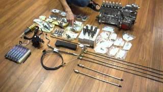 Видео запчастей из переделки двигателя Cummins ISLE Евро3-4 на Евро2(, 2014-06-11T12:57:38.000Z)