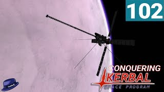 Conquering Kerbal Space Program - Ep 102 - Eve Network, One Year Late - Modded KSP Gameplay