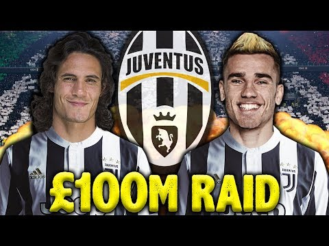 REVEALED: Juventus Ready To Spend £200M On Griezmann & Cavani!   Continental Club