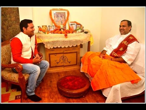 Prem Bhushan Ji Maharaj In Moments With Rudra