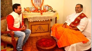 Prem bhushan Ji Maharaj In Moments With Rudra