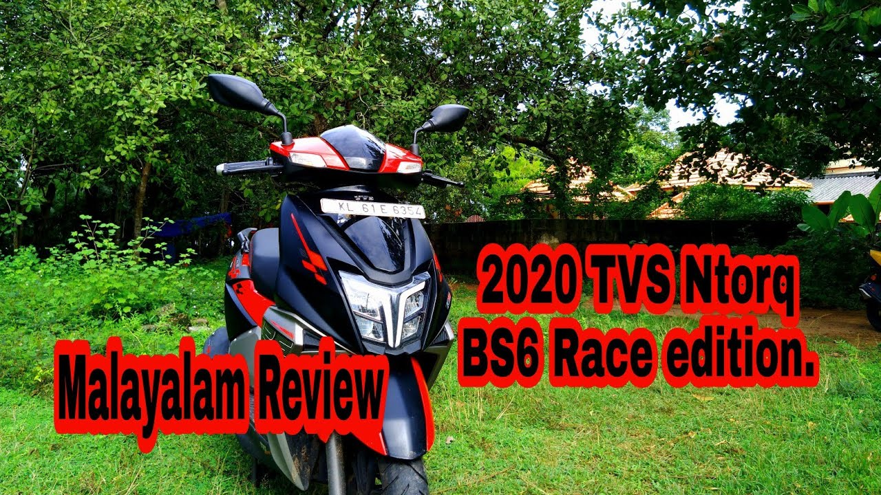 2020 Tvs Ntorq  bs6 Race edition  Review  Malayalam