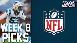 NFL WEEK 8 PICKS 2019 NFL GAME PREDICTIONS | WEEKLY NFL PICKS