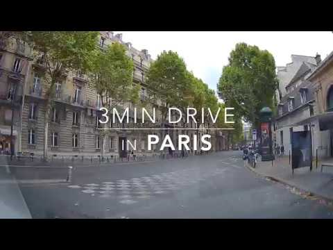 3min Drive in Paris HD 1080p 004 2017Sept.