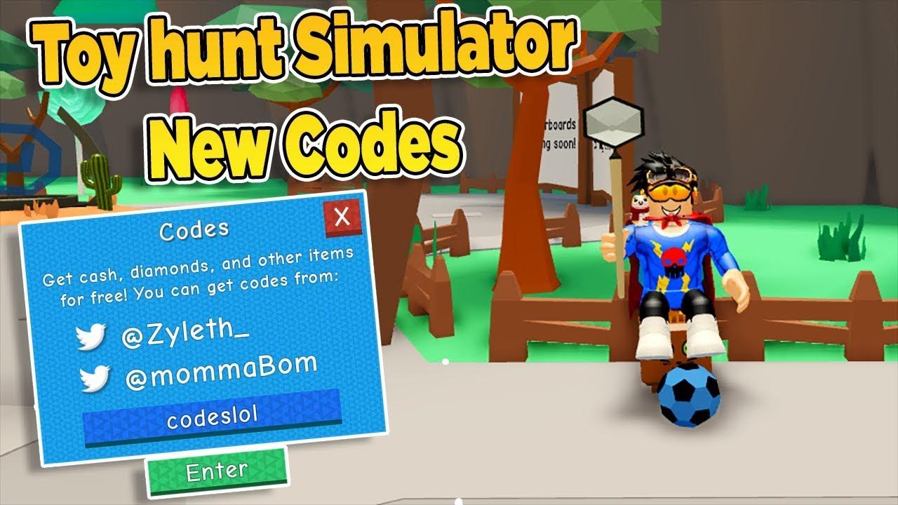 roblox toy hunt simulator codes