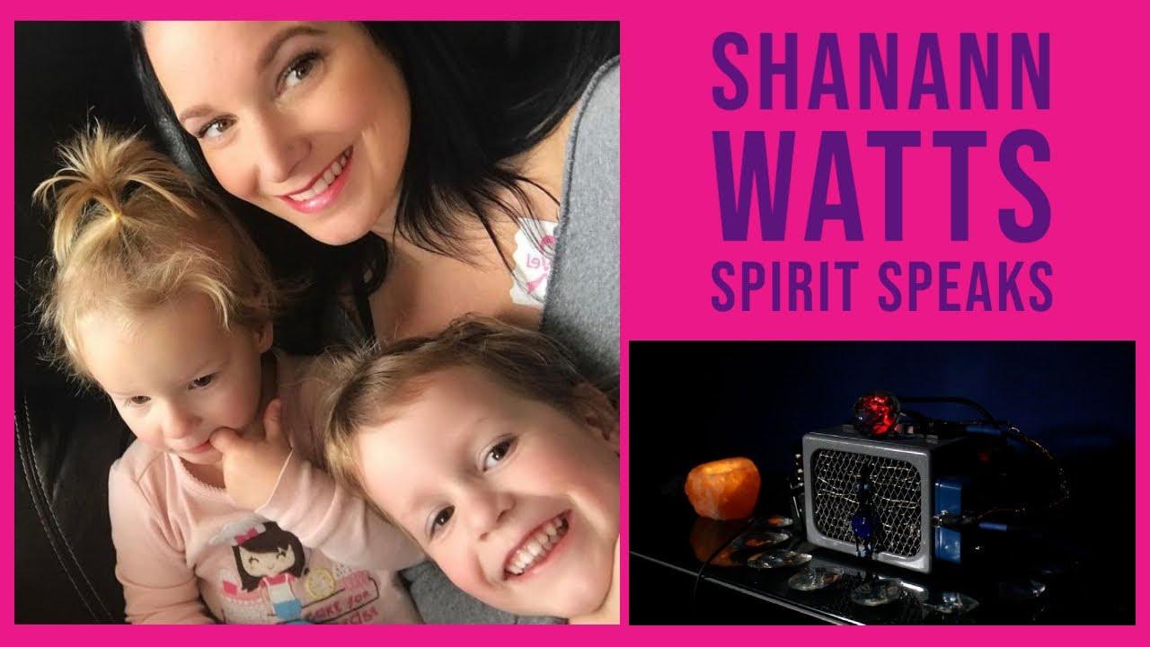 SHANANN WATTS - Hear her SPIRIT Speak - Incredible Spirit Box Session