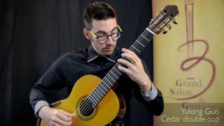 Thierry Begin Lamontagne performs Canarios on 3 Classical Guitars