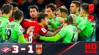 05.11.2017г. Спартак - Уфа - 3:1. Обзор матча