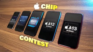 Apple A13 vs A12 vs A11 vs A10 vs A9 Speed Test | Chip Contest (Ep. 4)
