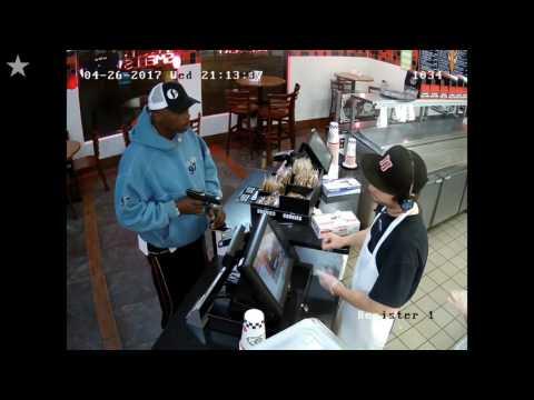 Robber shoves handgun into face of Jimmy Johns employee