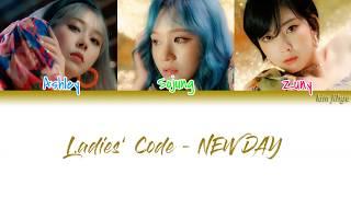Ladies' Code (레이디스 코드) – NEW DAY Lyrics (Han|Rom|Eng|Color C…