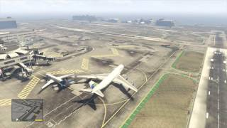Grand Theft Auto V - Caipira Airways Jet Planes (BIGGEST PLANE IN THE GAME)