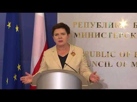 Бойко Борисов: България изпълнява всички критерии за Шенген, това е казано на най-високо ниво в ЕК. Благодаря и на премиера Баета Шидло за изразената подкрепа. Страната ни също така кандидатства за чакалнята на еврозоната, защото сме изпълнили критериите. Имаме реалистичен бюджет и излишък. Не представляваме никакъв риск за еврозоната.