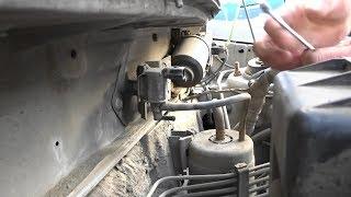 Замена клапана адсорбера на Mazda Demio