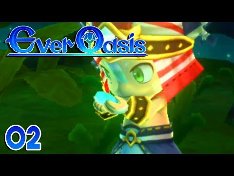 Ever Oasis Part 2 - COMBAT IS AWESOME! Gameplay Walkthrough