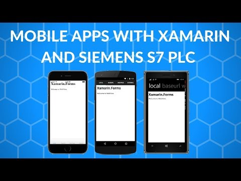 Create A Mobile App With Xamarin Forms That Connects To A Siemens S7 Plc