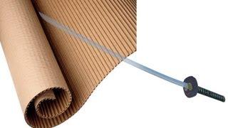 Como fazer uma espada de papelão