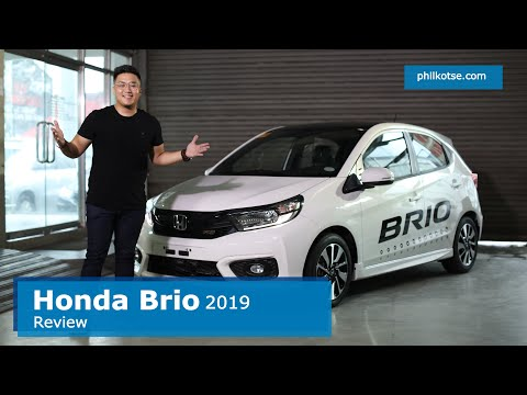 Honda Brio 2019 Philippines Review & Road Test || Is It Worth P598K For A City Car? Philkotse