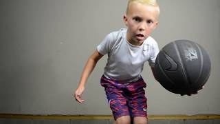 7 year old basketball player Kobi Jackson. Amazing dribbling skills!