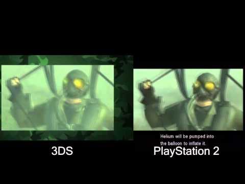Metal Gear Solid: Snake Eater 3D Video ...