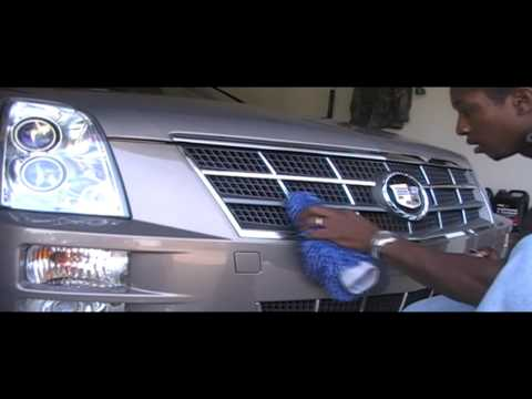 Part 1 Chrome out the grill of your Cadillac Sts or other car