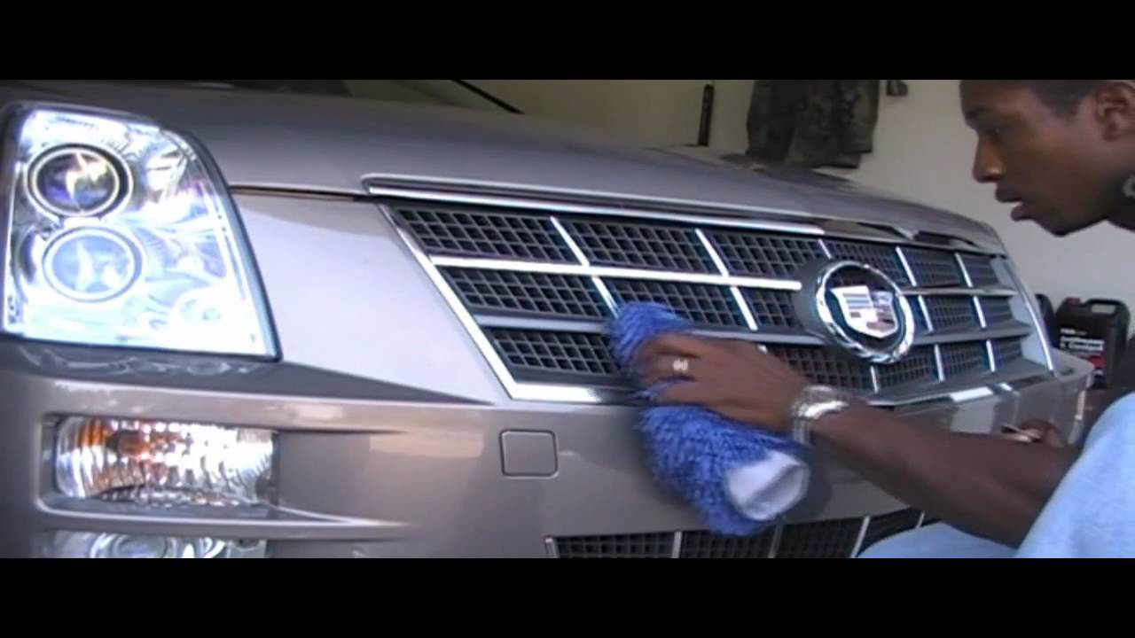 Part 1 Chrome Out The Grill Of Your Cadillac Sts Or Other