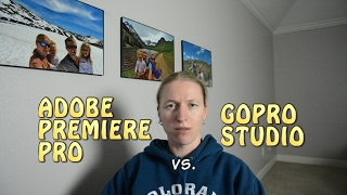 Adobe Premiere Pro vs. GoPro Studio for basic video editing